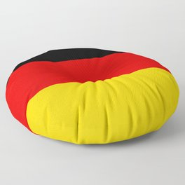 Flag of Germany - Authentic High Quality image Floor Pillow