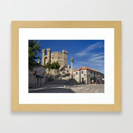 Penedono castle, Portugal Framed Art Print