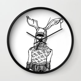 Little lost boys II Wall Clock