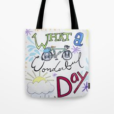 What a Wonderful Day Tote Bag
