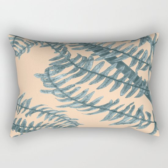 Silver Fern Rectangular Pillow