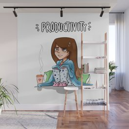Almost productive Wall Mural