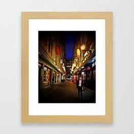 Melbourne Alley Framed Art Print
