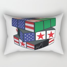 The U.S. Has No Dog In The Fight In Syria Rectangular Pillow