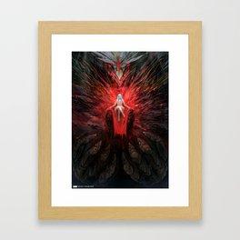 Stone Demon Framed Art Print