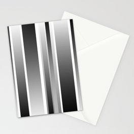 Color Black gray Stationery Cards