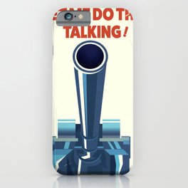Let ME Do the talking iPhone Case
