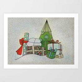 Advent Calendar - Day 24 Art Print