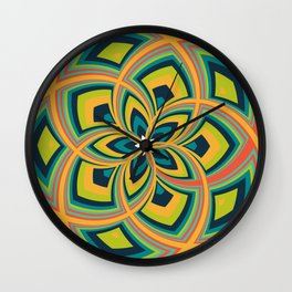 Spiral Rose Pattern C 4/4 Wall Clock