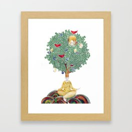Fig tree Framed Art Print