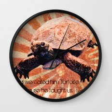 Dusty's Desert Face Wall Clock