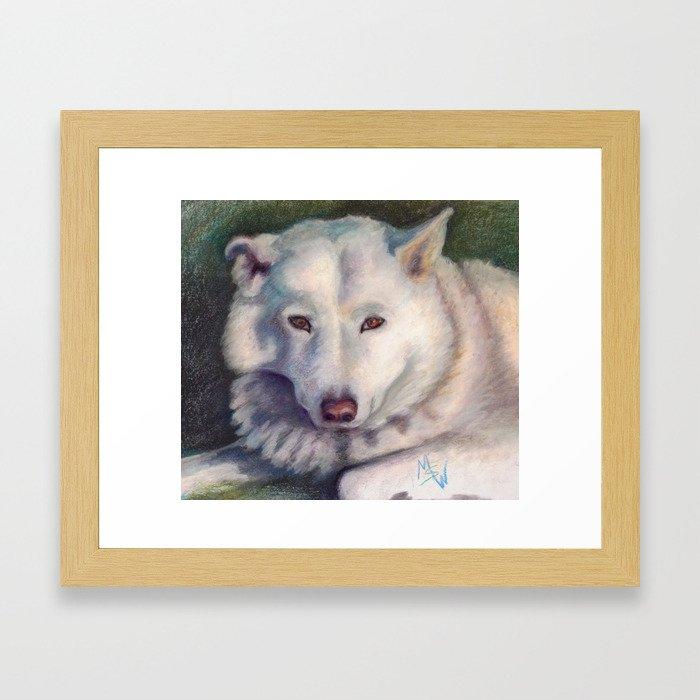 Beautiful Bear Framed Art Print
