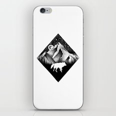 THE LONELY WOLF iPhone & iPod Skin