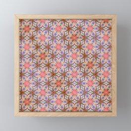 Pink Star Framed Mini Art Print