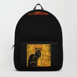 Vintage Tournee du Chat Noir Black Cat product For Halloween Backpack