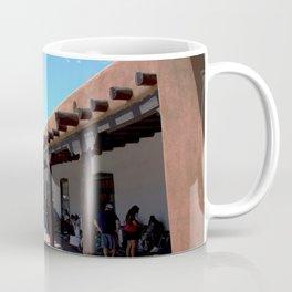 Santa Fe Old Town Square, No. 4 of 7 Coffee Mug