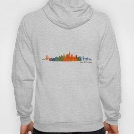 San Francisco City Skyline Hq v1 Hoody