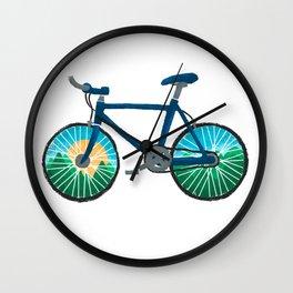 Bike Ride Wall Clock