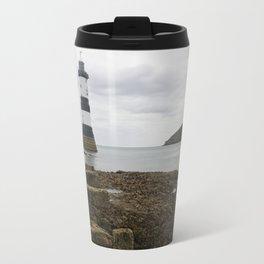 Trwyn Du Lighthouse Travel Mug