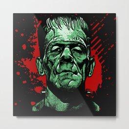 Midnight Frankenstein  Metal Print