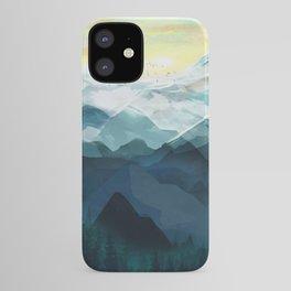 Mountain Range iPhone Case