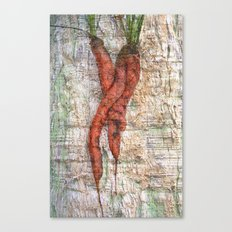Carrot Love Canvas Print