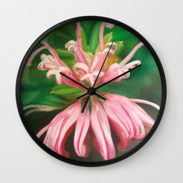 Australia flower Wall Clock
