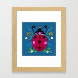 Ladybug wonder Framed Art Print