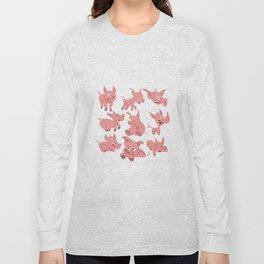 Pigs Long Sleeve T-shirt