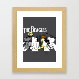 The Beagles Framed Art Print