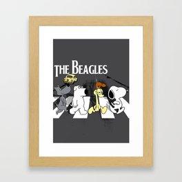The Beagles Framed Art Print