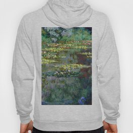 Claude Monet Pond of Water Lilies Hoody