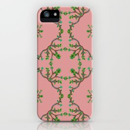 Vine squares iPhone Case