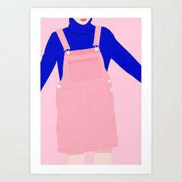 Salopette Art Print
