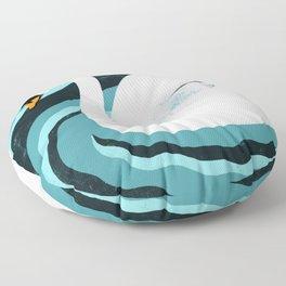 Swan Floor Pillow