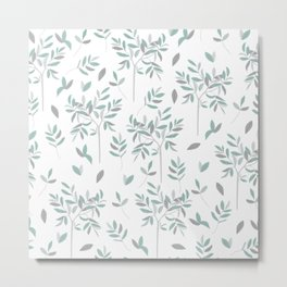 Olive - white edition Metal Print