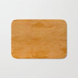Dante Orange Stucco - Luxury - Rustic - Faux Finishes - Venetian Plaster Bath Mat