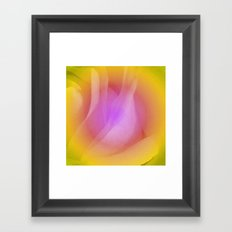 Abstract rose 2 Framed Art Print