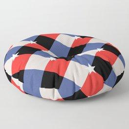 American Gingham Floor Pillow