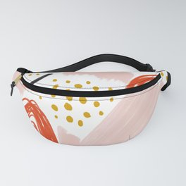 Playful Scribble Fanny Pack