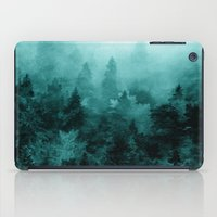 fractal iPad Cases featuring Fractal Forest by Klara Acel