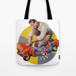 Mr Fixit | Collage Tote Bag