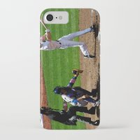 baseball iPhone & iPod Cases featuring Baseball by Mylittleradical