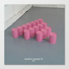 Variation Number 21 (photo) Canvas Print