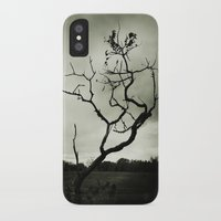 alone iPhone & iPod Cases featuring ALONE by Christina Lynn Williams