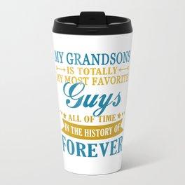 Grandsons Forever Travel Mug