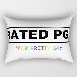 Rated PG Rectangular Pillow