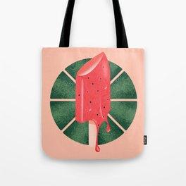 Melon Pop Lipsicle Tote Bag