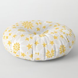 Pivot Star Pattern  Floor Pillow