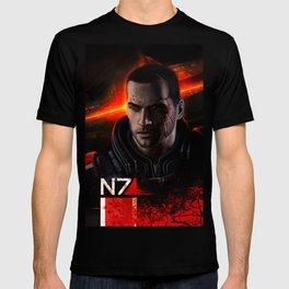 Renegade Commander John Shepard T-shirt